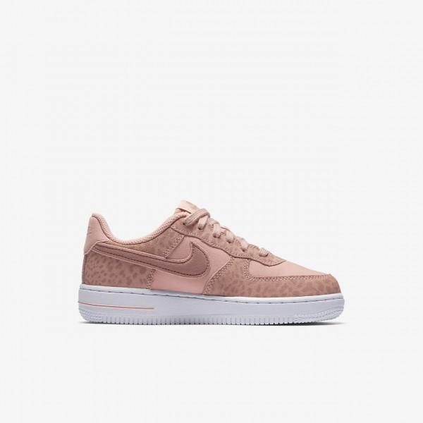 Nike Air Force 1 Lv8 Freizeitschuhe Mädchen Rosa Weiß Pink 886-12722