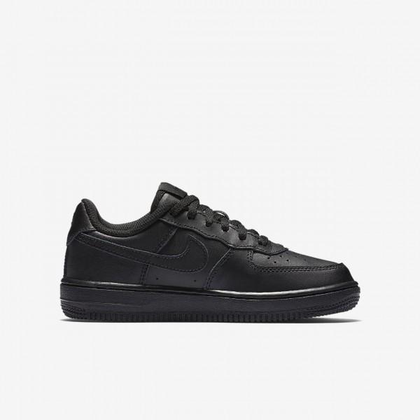 Nike Air Force 1 Freizeitschuhe Mädchen Schwarz 763-88927