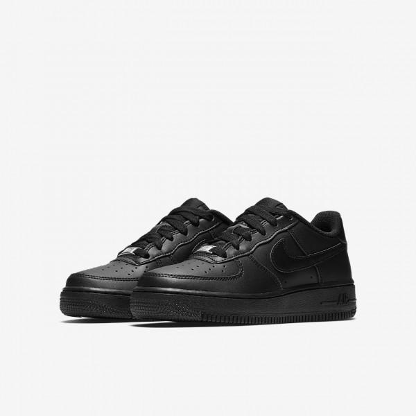 Nike Air Force 1 Freizeitschuhe Mädchen Schwarz 174-48060