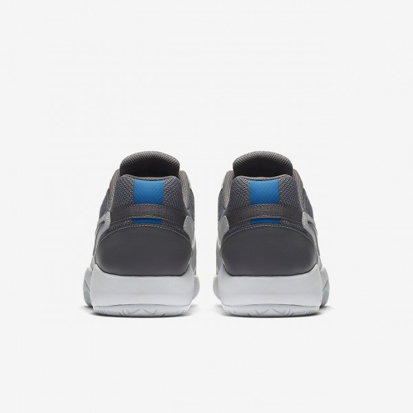 Nike Court Air Zoom Resistance Tennisschuhe Herren Grau Blau Weiß 316-11114