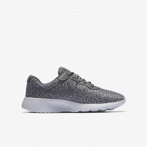 Nike Tanjun Print Freizeitschuhe Mädchen Weiß 160-86452