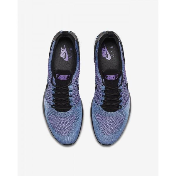 Nike Air Zoom Mariah Flyknit Racer Freizeitschuhe Herren Lila Blau Weiß Schwarz 568-24458