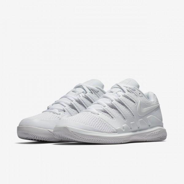 Nike Air Zoom Vapor X Tennisschuhe Damen Weiß Grau 308-97766