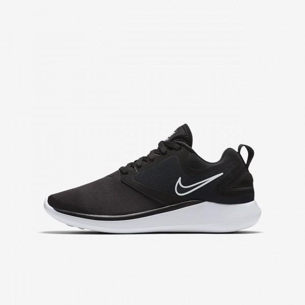Nike Lunarsolo Laufschuhe Mädchen Schwarz Weiß 9...