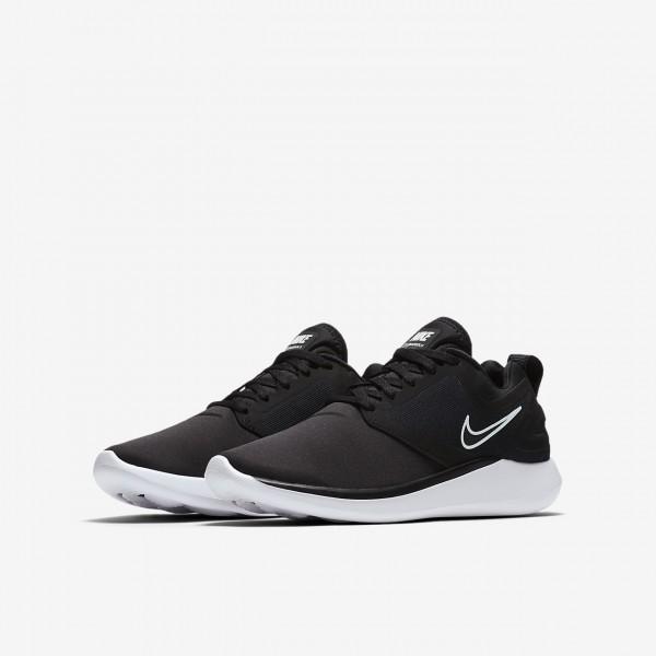 Nike Lunarsolo Laufschuhe Mädchen Schwarz Weiß 933-90052