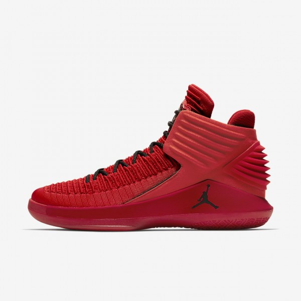 Nike Air Jordan XXXII Rosso Corsa Basketballschuhe...