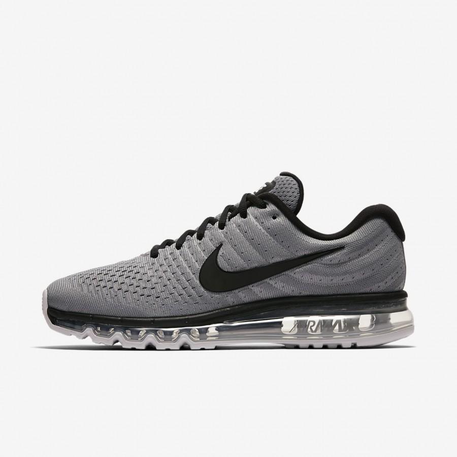 Nike Air Max 2017 Herren Running Laufschuhe schwarz