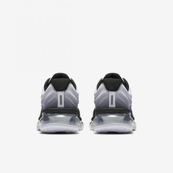 Nike Air Max 2017 Laufschuhe Mädchen Schwarz Weiß 891-10086