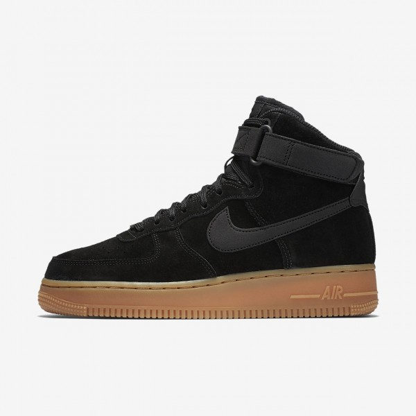 Nike Air Force 1 high Se Freizeitschuhe Damen Schw...