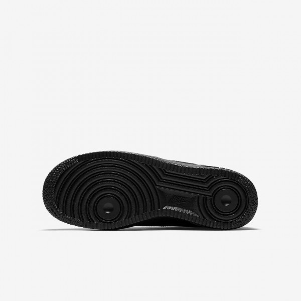 Nike Air Force 1 Freizeitschuhe Jungen Schwarz 364-22827