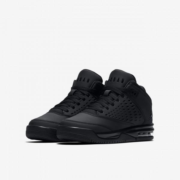 Nike Jordan Flight Origin 4 Outdoor Schuhe Jungen Schwarz 589-63587
